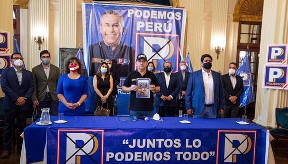 Daniel Urresti es el candidato presidencial de Podemos Perú. (Foto: Andina)