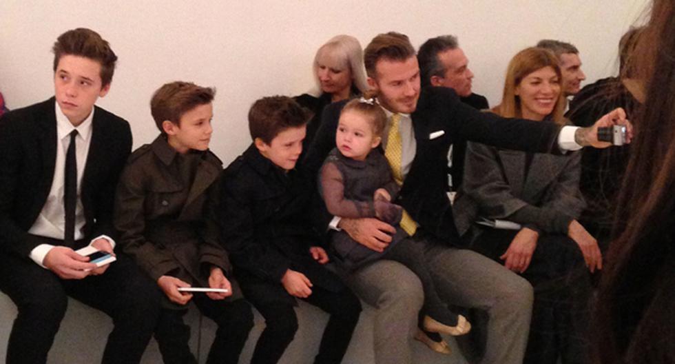 Los Beckham en pleno en la Semana de la Moda de Nueva York - 1