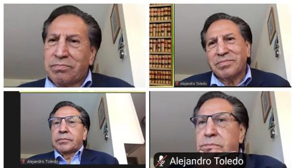 Alejandro Toledo participó en audiencia de extradición