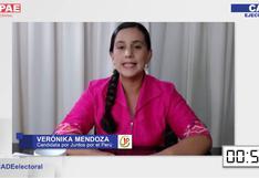 Fact checking: Verónika Mendoza y sus afirmaciones sobre el agua y la pandemia durante CADE Electoral