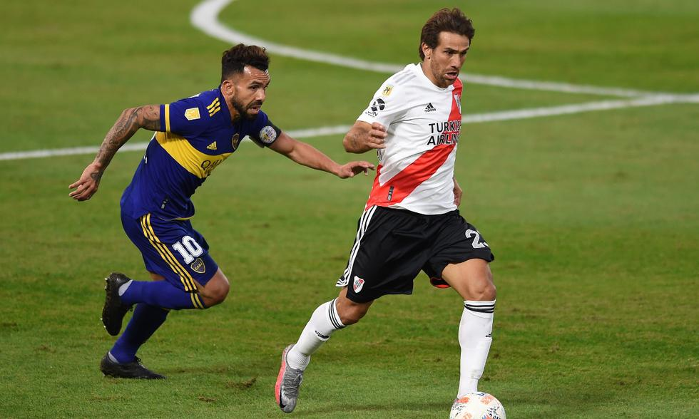 Boca Juniors y River Plate jugaron en La Bombonera | Foto: EFE