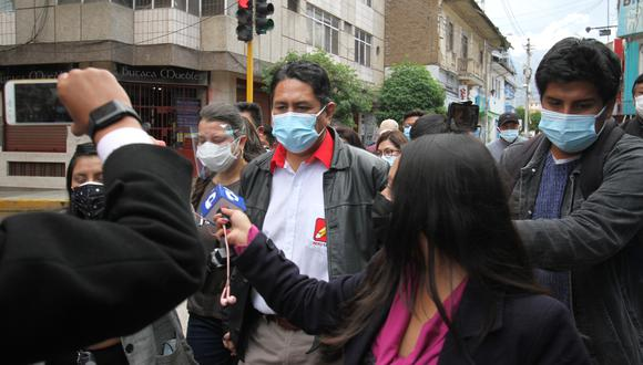 Vladimir Cerrón, fundador de Perú Libre, asumió el Gobierno Regional de Junín el 1 de enero de 2019. Sin embargo, siete meses después fue suspendido por el Consejo Regional debido a una sentencia judicial   Foto: Caleb Mendoza / @photo.gec