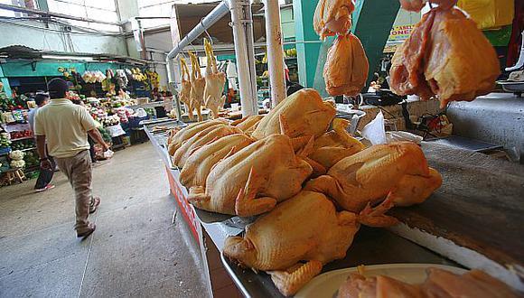 Precio del pollo pasó de S/9 a S/7.50 en últimas cuatro semanas