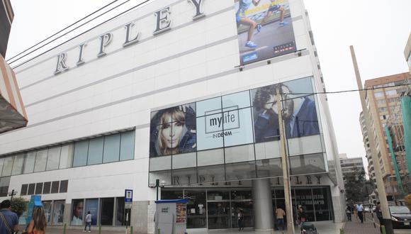 Ripley fue multada por Indecopi. (Foto: GEC)