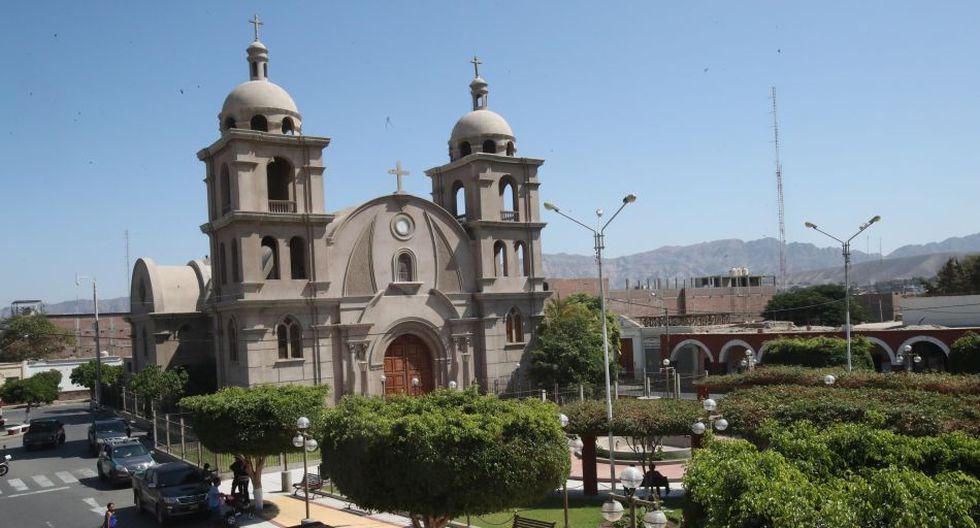 La plaza principal de Palpa.