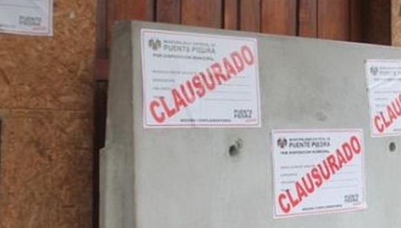 Clausuran prostíbulos y bares clandestinos en Puente Piedra