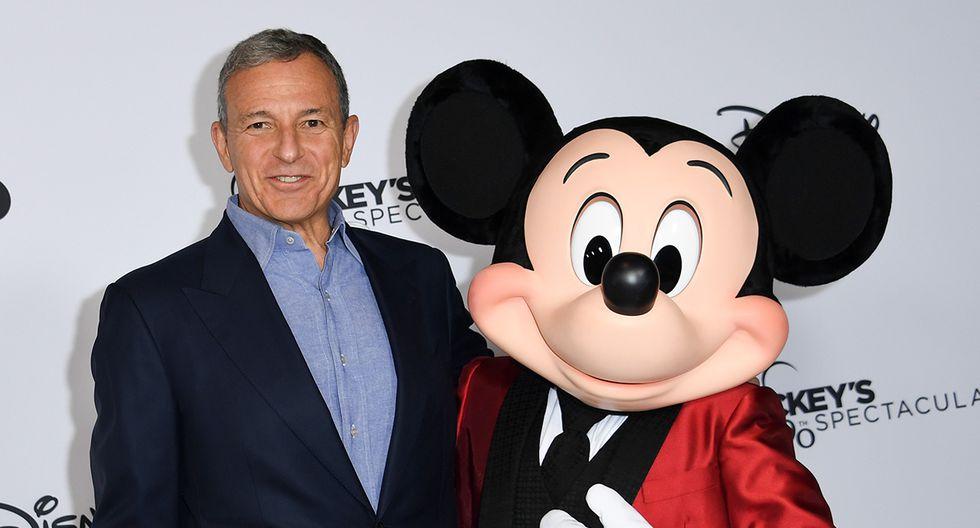 Robert Iger, director de Disney, pidió disculpas después de que la compañía multara a una escuela primaria. (AFP)