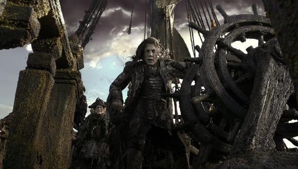 """Javier Bardem en """"Los piratas del Caribe: La venganza de Salazar"""""""