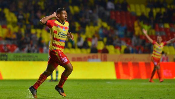 Edison Flores marcó un doblete en el empate (3-3) entre Monarcas Morelia y León de Pedro Aquino. (Foto: AP)