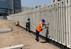 Jockey Club culmina primera etapa de construcción del nuevo muro perimétrico