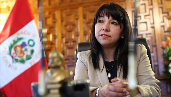 """Mirtha Vásquez dijo que en el Congreso no se """"va a blindar a nadie"""". (FOTOS: ALESSANDRO CURRARINO/EL COMERCIO)"""