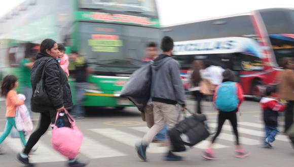 Mincetur indicó que el 62% de los viajes a realizarse serán por motivos de recreación. (Foto: USI)