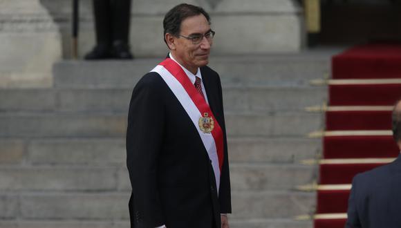 Martín Vizcarra participó en actividades para promover la erradicación de la violencia contra la mujer. (Foto: USI)