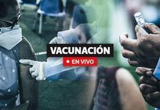 Vacunación COVID-19 Perú: Cronograma, cifras y última hora hoy, 18 de octubre