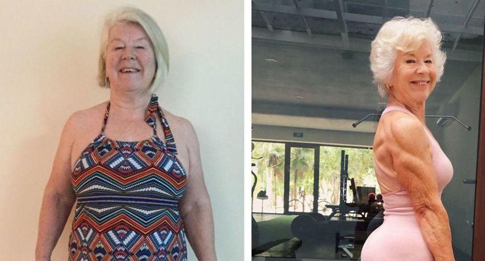 En tres años logro perder 24 kilos y tonificó diferentes áreas de su cuerpo. (Foto: Instagram)