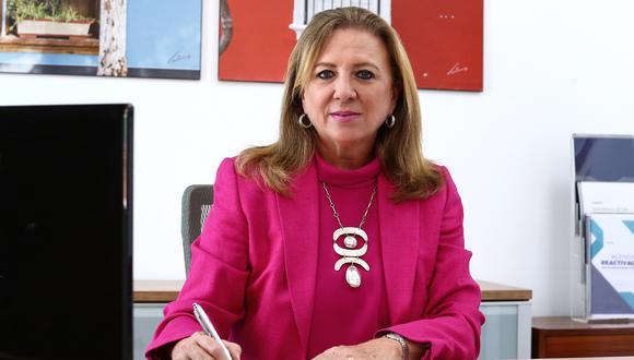 Según María Isabel León, presidenta de Confiep, se ha planteado al Ejecutivo usar los estacionamientos de los centros comerciales para el proceso de vacunación nacional. FOTO: ALESSANDRO CURRARINO/EL COMERCIO