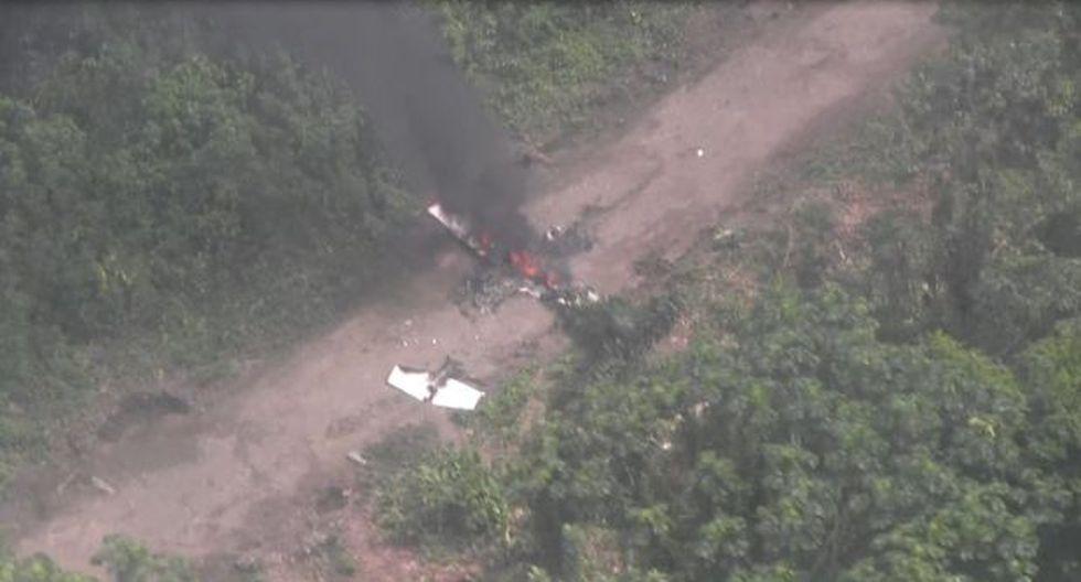Ayacucho: narcotraficantes incendiaron avioneta en el Vraem - 3