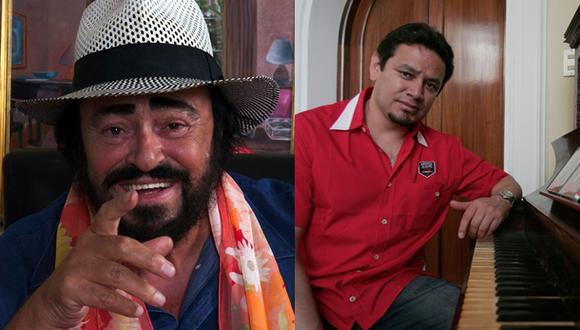 Asistente peruano de Luciano Pavarotti lanza libro de anécdotas