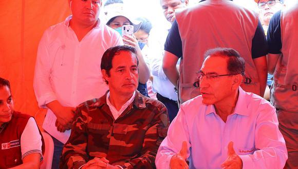 Martín Vizcarra negó que su empresa le haya brindado servicios de Odebrecht. (Foto: Presidencia)