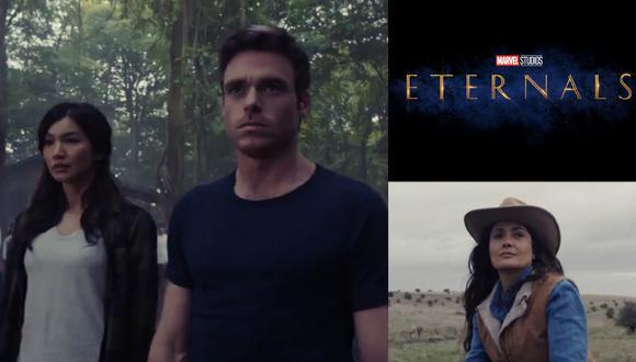 """Primeras imágenes de """"Eternals"""", lo nuevo de Marvel Studios dirigido por Chloe Zhao. Foto: Disney."""