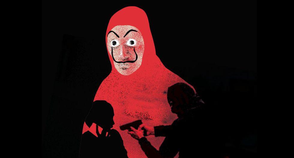'En la ciudad de la furia', la columna de Lorena Salmón. (Ilustración: Nadia Santos)
