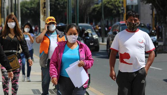 Diresa asevera que Áncash está llegando a la cúspide de contagios de coronavirus. (Foto: Laura Urbina)