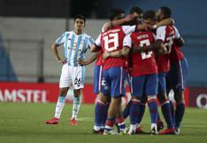 Nacional sorprendió con una victoria ante Racing en Argentina por la Copa Libertadores 2020