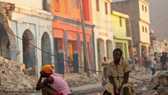 El 12 de enero de 2010 un terremoto con una magnitud de 7,3 grados en la escala de Richter dejó 316.000 muertos en Haití.