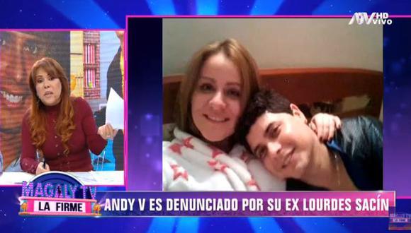 Lourdes Sacín denuncia nuevamente a Andy V por violencia física. (Foto: captura)
