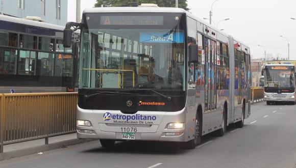 Metropolitano: hoy solo funcionarán las rutas regulares y el servicio a las playas