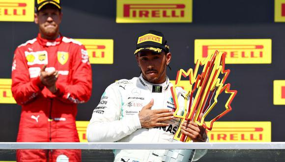 Lewis Hamilton ganó el GP de Canadá gracias a una sanción a Sebastian Vettel | VIDEO