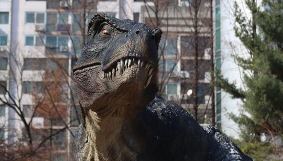 Una niña se disfrazó de Tiranosaurio-Rex por Halloween, pero la pasó muy mal por culpa del viento - Foto: Pixabay / moonsword