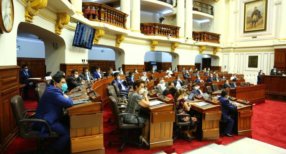 Pese a la cuarentena por el coronavirus- el Congreso realizó más de una sesión plenaria. (Foto: Congreso de la República)