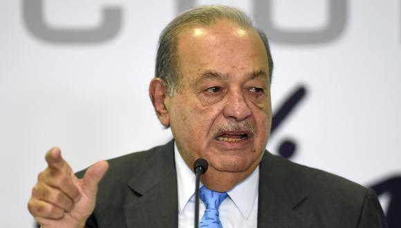 Carlos Slim. (Foto: ALFREDO ESTRELLA / AFP)
