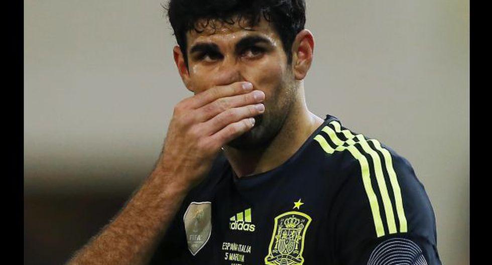Diego Costa se aleja del Mundial por reposo forzado de 15 días