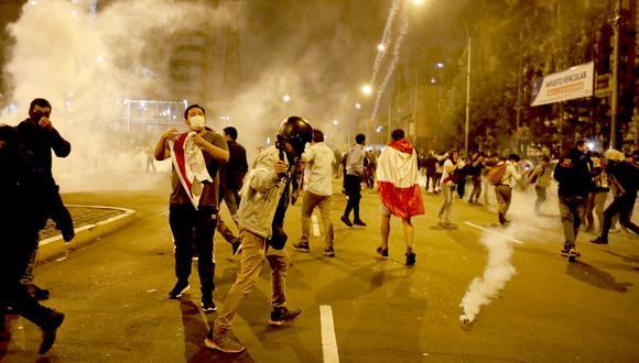"""""""El acicate de los resultados del referéndum chileno ha sido fortalecido por las manifestaciones de hace algunas semanas"""". (Foto: Cesar Bueno / GEC)"""