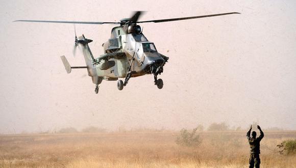Una foto de archivo del 2013 de militares franceses en Mali. El accidente eleva a 38 el número de soldados franceses muertos en Mali desde que comenzó la operación francesa en el Sahel en 2013. (Archivo / AFP)