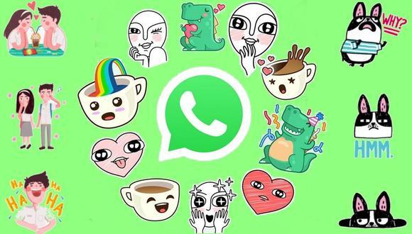 Una de las últimas novedades en WhatsApp, es la interacción por medio de los stickers. Aquí te contamos cómo hacer los tuyos. (Foto: ComputerHoy)
