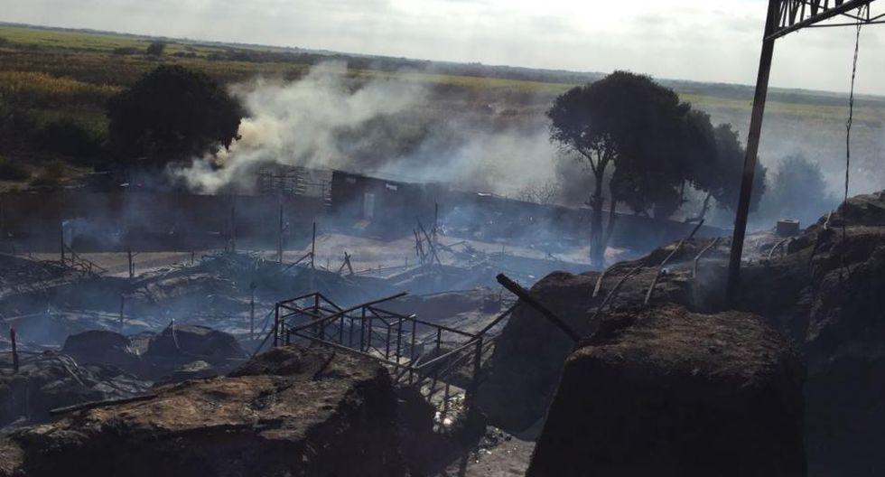 Incendio en sitio arqueológico Ventarrón: han repuesto 30% de cobertura de techos