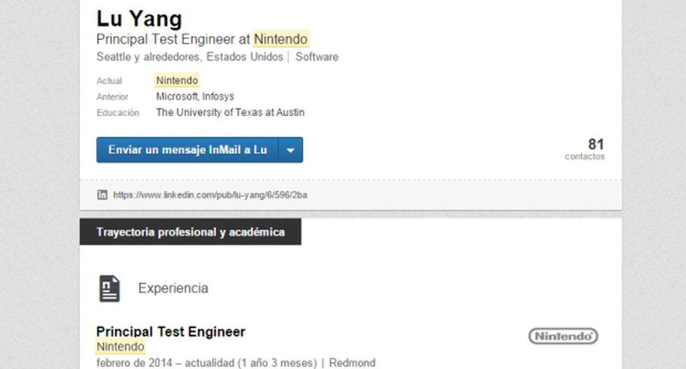 LinkedIn: ¿Nintendo está trabajando en una nueva consola?