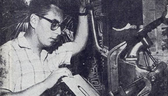 """Javier Sologuren se convirtió en un delicado editor artesanal con la editorial La Rama Florida. (Archivo del diario """"La Prensa"""")"""