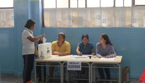 En estas elecciones la ONPE ha ampliado significativamente el número de locales de votación. (Foto referencial: GEC)