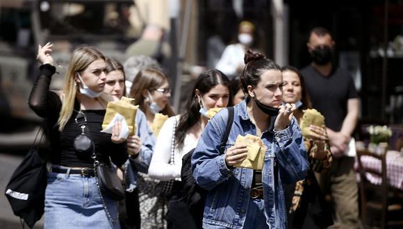 Coronavirus en Italia | Últimas noticias | Último minuto: reporte de infectados y muertos hoy, lunes 17 de mayo del 2021 | COVID-19 | (Foto: Filippo MONTEFORTE / AFP).