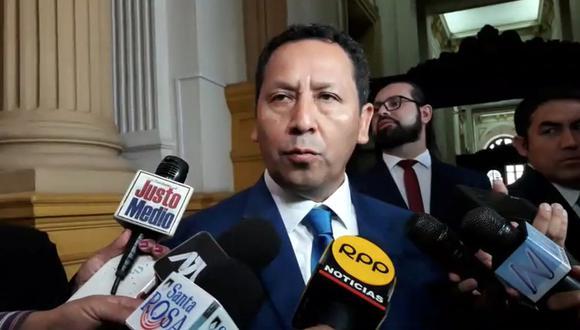 El excongresista Clemente Flores es investigado por sus presuntos vínculos con Los Temerarios del Crimen. (Foto: GEC)