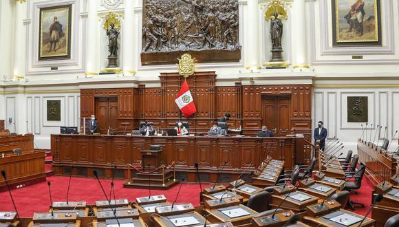 La sesión iniciará a las 9:00 horas. (Foto: Congreso)