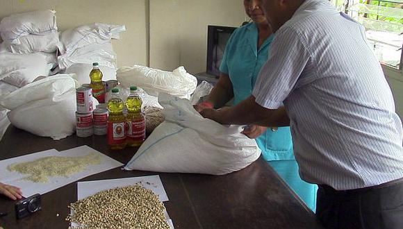 Pucallpa: hallan gorgojos en frijoles para pacientes de TBC