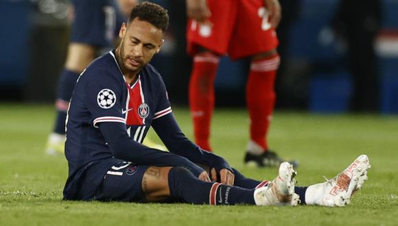 Neymar brilló frente al Bayern Múnich por la Champions League