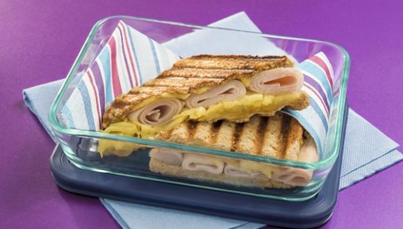 Sándwich tres sabores