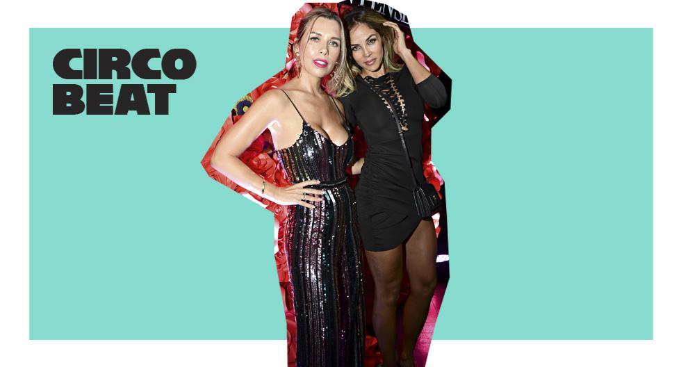Grethel Benavides Neufuss y Maricris Rubio en el lanzamiento de Bombshell Intense, la fragancia de Victoria's Secret.