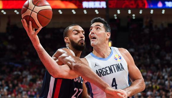 Scola se enfrentó a Rudy Gobert, el francés elegido mejor jugador defensivo los das últimas temporadas en la NBA. Lo superó con diferencia.